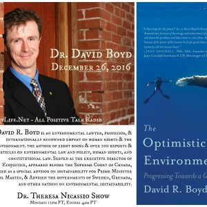 Dr. David Boyd - THE OPTIMISTIC ENVIRONMENTALIST
