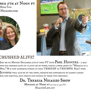 Radio Guest: Paul Henczel - CRUSHED ALIVE!