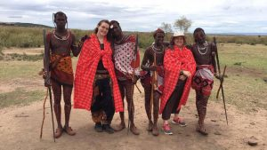 Sabrina Dickinson 18 y.o. Making a Difference Humanitarian Girl Scout Gold Award Project in Kenya