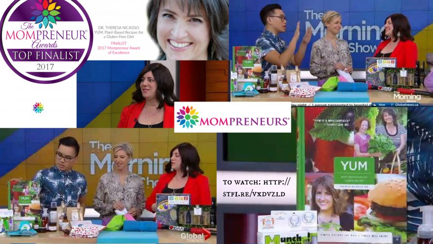Maria Locker Promotes Innovative Mompreneurs on Global News
